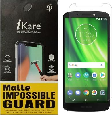 iKare Impossible Screen Guard for Motorola Moto G6 Play(Pack of 1)