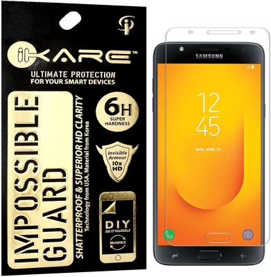 iKare Impossible Screen Guard for Samsung Galaxy J7 Duo(Pack of 1)