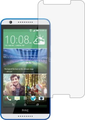 ZINGTEL Tempered Glass Guard for Htc Desire 820G Plus (Flexible, Shatterproof)(Pack of 1)