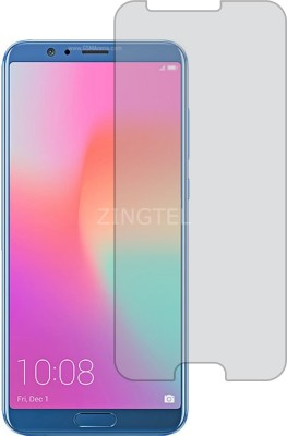 ZINGTEL Tempered Glass Guard for HUAWEI HONOR View 10 (Flexible, Shatterproof)(Pack of 1)
