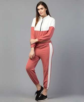 Moshe Striped Women Track Suit