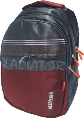GLADIATOR The Mount 35 L Laptop Backpack Maroon GLADIATOR Backpacks