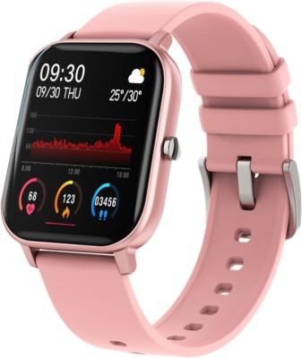 Fire-Boltt SpO2 Full Touch Smartwatch(Pink Strap, Regular)