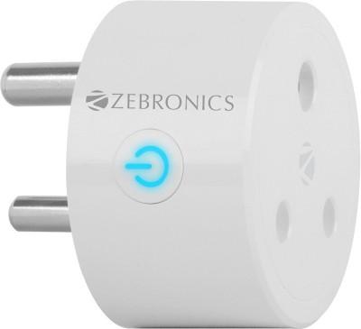 ZEBRONICS ZEB-SP116 16A Smart Plug(White)