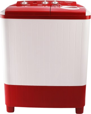 Panasonic 7 kg 5 star Semi Automatic Top Load Red, White(NA-W70E5RRB)