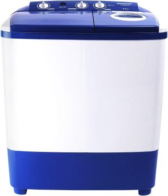 Panasonic 6.5 kg 5 star Semi Automatic Top Load White, Blue(NA-W65E5ARB)