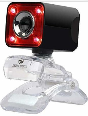 Zebronics Crystal Pro Webcam Webcam Black Zebronics Webcams