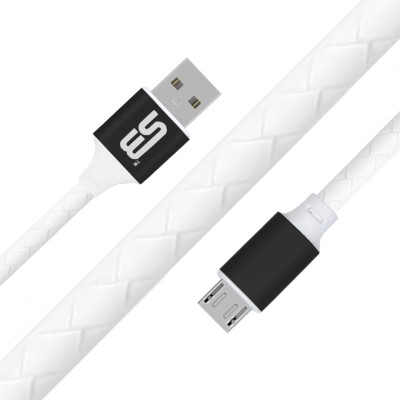 SB Data Cable   Fast Charge   Transfer 1.2 m Micro USB Cable Compatible with Android Phones, Black SB Mobile Cables