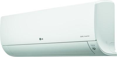 LG 1.5 Ton 3 Star Split Dual Inverter AC  - White(MS-Q18UVXA, Copper Condenser)
