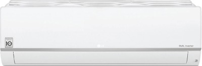 LG 1.5 Ton 4 Star Split Dual Inverter AC  - White(MS-Q18HNYA1, Copper Condenser)
