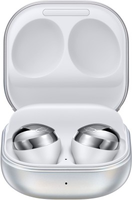 Samsung Galaxy Buds Pro Active Noise Cancellation Enabled Bluetooth Headset(Silver, True Wireless)