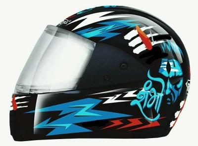 RACING Unbreakable MD-001 ISI Motorbike Helmet(Multicolor)