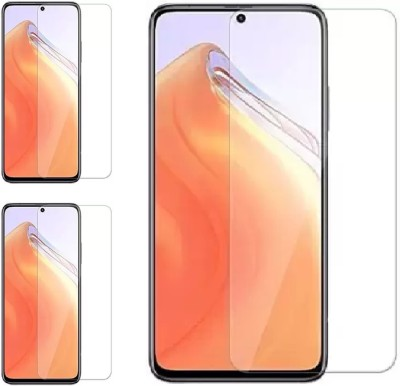 ISAAK Tempered Glass Guard for Xiaomi Mi 10i(Pack of 3)