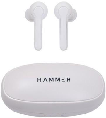 Hammer Solo 3.0 Bluetooth Headset(White, True Wireless)
