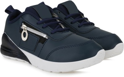 FAST TRAX Boys Lace Running Shoes Dark Blue FAST TRAX Sports Shoes