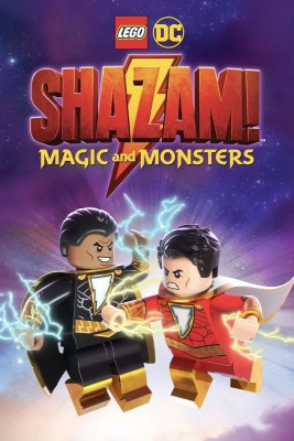 LEGO DC: Shazam!: Magic and Monsters  Region 2   Fully Packaged Import  DVD English DVD