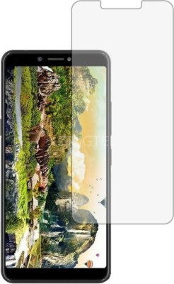 ZINGTEL Tempered Glass Guard for ITEL A45 (Flexible, Shatterproof)(Pack of 1)