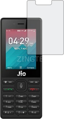 ZINGTEL Tempered Glass Guard for Jio F50 (Flexible, Shatterproof)(Pack of 1)