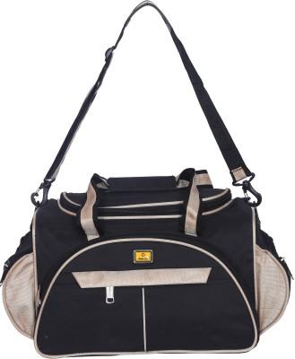 Fashion  Expandable  45 L travel bag Travel Duffel Bag Black