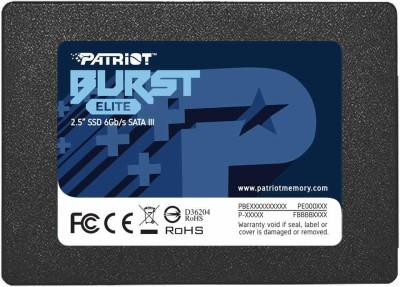 patriot 120 GB External Solid State Drive(Black)