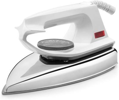 RAIZON WH-01 Light weight electric iron box 750 W Dry Iron(White)