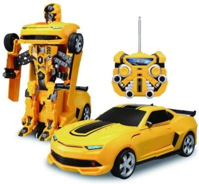 Ktkashish Toys Fantastic Transformers Kids remote Control Car Yellow Ktkashish Toys Remote Control Toys