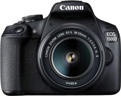 Canon EOS 1500D DSLR Camera Body+ 18-55 mm IS II Lens(Black)