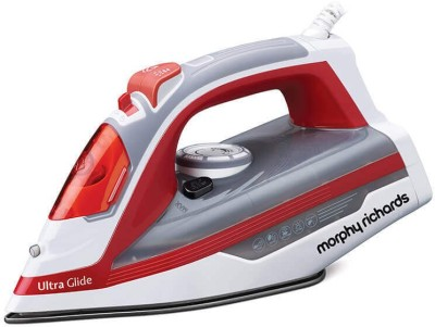 Morphy Richards ULTRA GLIDE 1600 W Steam Iron(RED & GREY)