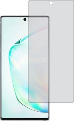 ZINGTEL Tempered Glass Guard for SAMSUNG GALAXY NOTE 10 PLUS (Flexible, Shatterproof)(Pack of 1)