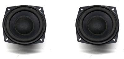 E-ivsaJ 4 INCH SUBWOOFER PACK OF 2 4 inch 4 ohms 25watt subwoofer for hometheater and Speaker Pack of 2...