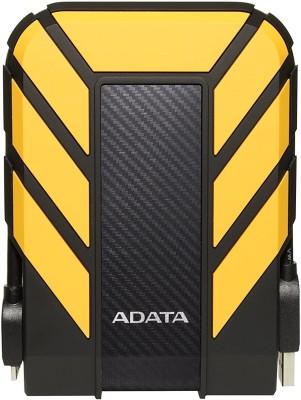ADATA 2 TB External Hard Disk Drive(Yellow, Black)