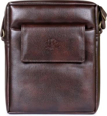 THE CLOWNFISH Brown Sling Bag THE CLOWNFISH Cross Body Bags