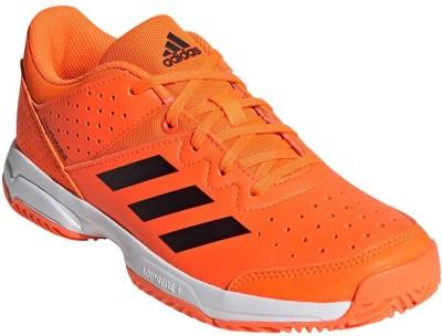 ADIDAS Boys Lace Running Shoes Orange