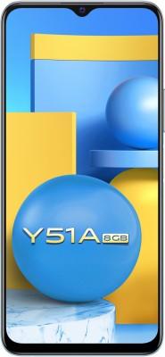 Vivo Y51A (Crystal Symphony, 128 GB)(8 GB RAM)