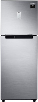 SAMSUNG 253 L Frost Free Double Door 3 Star Refrigerator(Elegant Inox, RT28A3453S8/HL)