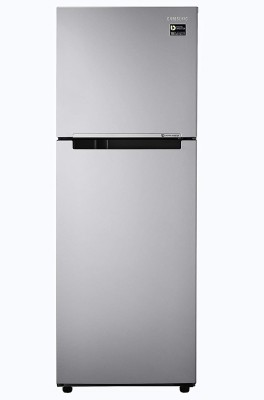 SAMSUNG 253 l Frost Free Double Door 2 Star Refrigerator(Gray silver, RT28A3032GS/HL)