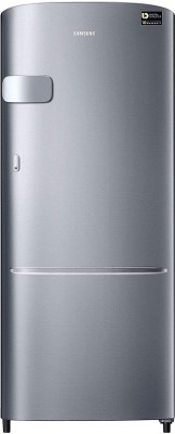 SAMSUNG 230 L Direct Cool Single Door 3 Star Refrigerator(Elegant Inox, RR24A2Y2YS8/NL)