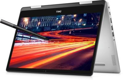 DELL Inspiron Core i3 10th Gen - (4 GB/256 GB SSD/Windows 10 Home) 5491 2 in 1 Laptop(14 inch, Silver,...