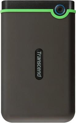 Transcend 1 TB External Hard Disk Drive(Grey)