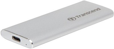 Transcend 120 GB External Solid State Drive(Silver)