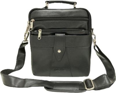 HANDCUFFS Black Messenger Bag