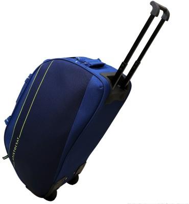 Aristocrat  Expandable  CABIN DUFFLE TROLLEY BAG Duffel Strolley Bag Blue