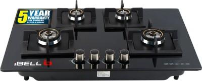 iBELL Glass Automatic Hob(4 Burners)