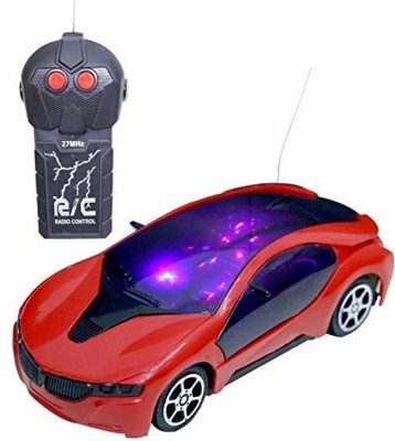 S.G.International 3d Fast Modern Car with Remote Control(white)(White)