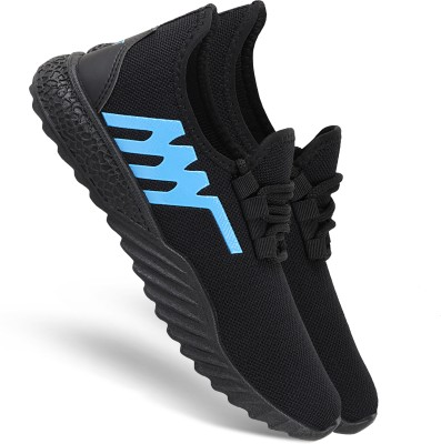 Chevit 510 Fashion & Trendy Light Sneakers For Men(Black, Blue)