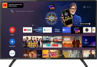 KODAK 7XPRO Series 106 cm (42 inch) Full HD LED Smart Android TV(42FHDX7XPRO)