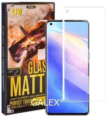 Matte Glass Edge To Edge Tempered Glass for Oppo Reno5 Pro ( Matte UV )(Pack of 1)