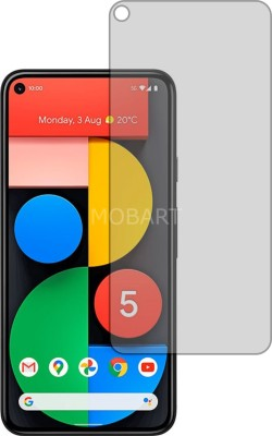 MOBART Tempered Glass Guard for GOOGLE PIXEL 5 (ShatterProof, Flexible)(Pack of 1)
