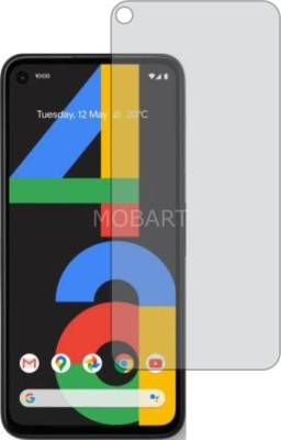 MOBART Tempered Glass Guard for GOOGLE PIXEL 4A (Matte Finish, Flexible)(Pack of 1)