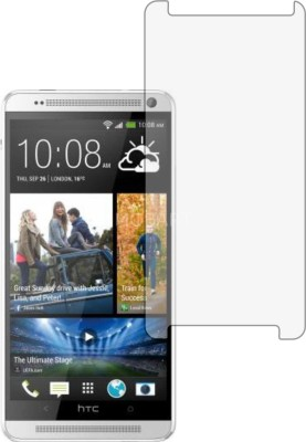 MOBART Tempered Glass Guard for HTC One Max (ShatterProof, Flexible)(Pack of 1)